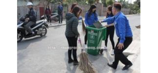 Chung tay bảo vệ môi trường cùng Thanh niên quận Dương Kinh