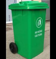 Thùng rác 100L HDPE có 2 bánh xe