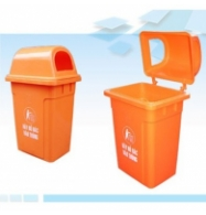 Thùng rác nhựa công cộng 95 lít