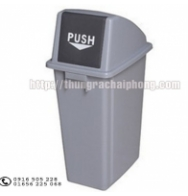 Thùng rác nhựa HDPE 60l nhập khẩu