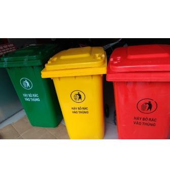 Ý nghĩa các màu sắc của thùng rác